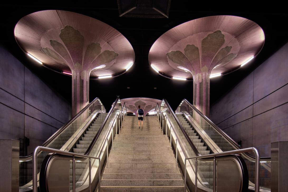 Medaille Plaha_Helmut_U-Bahn-Station
