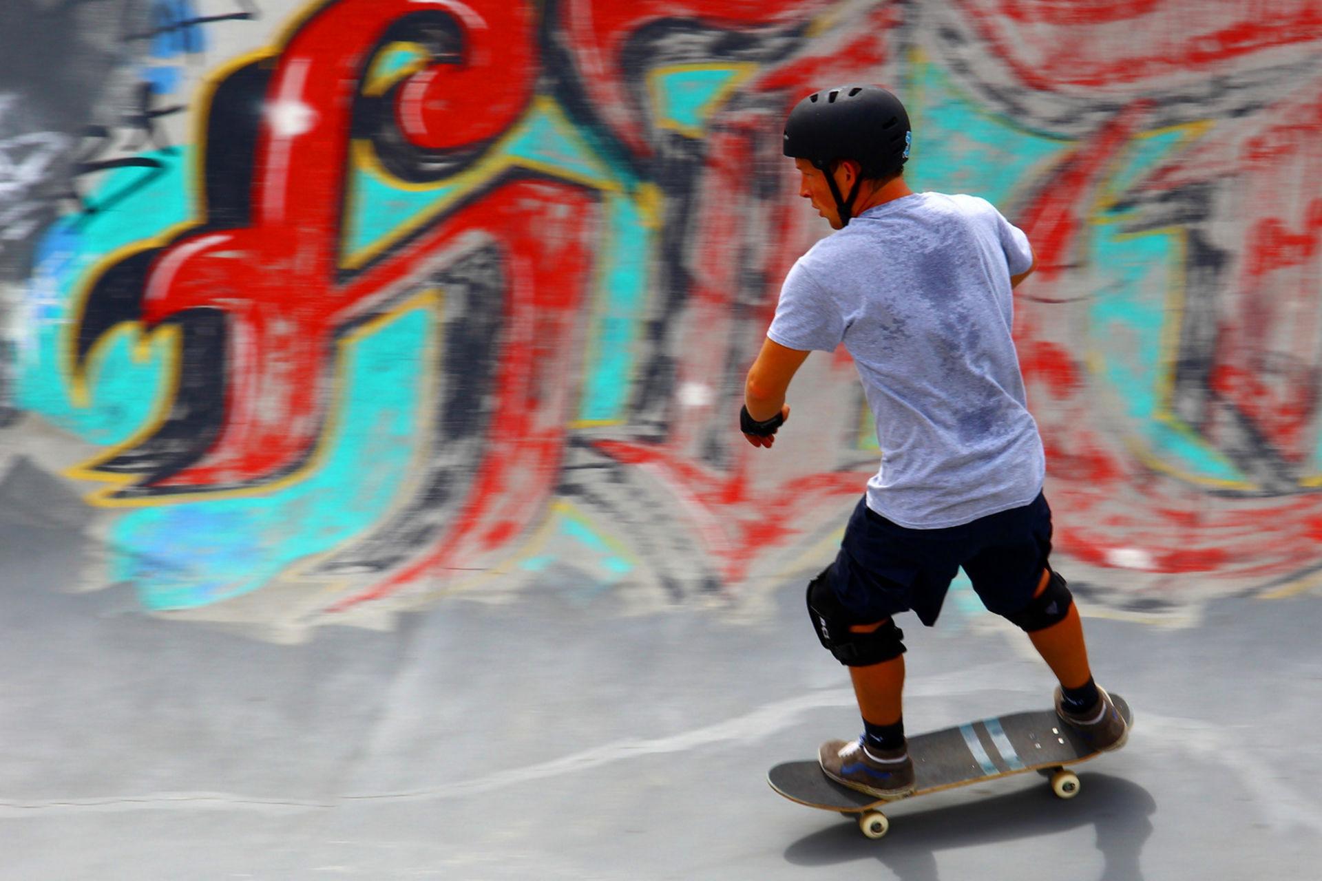 Johannes Wirl, beim_Skaten