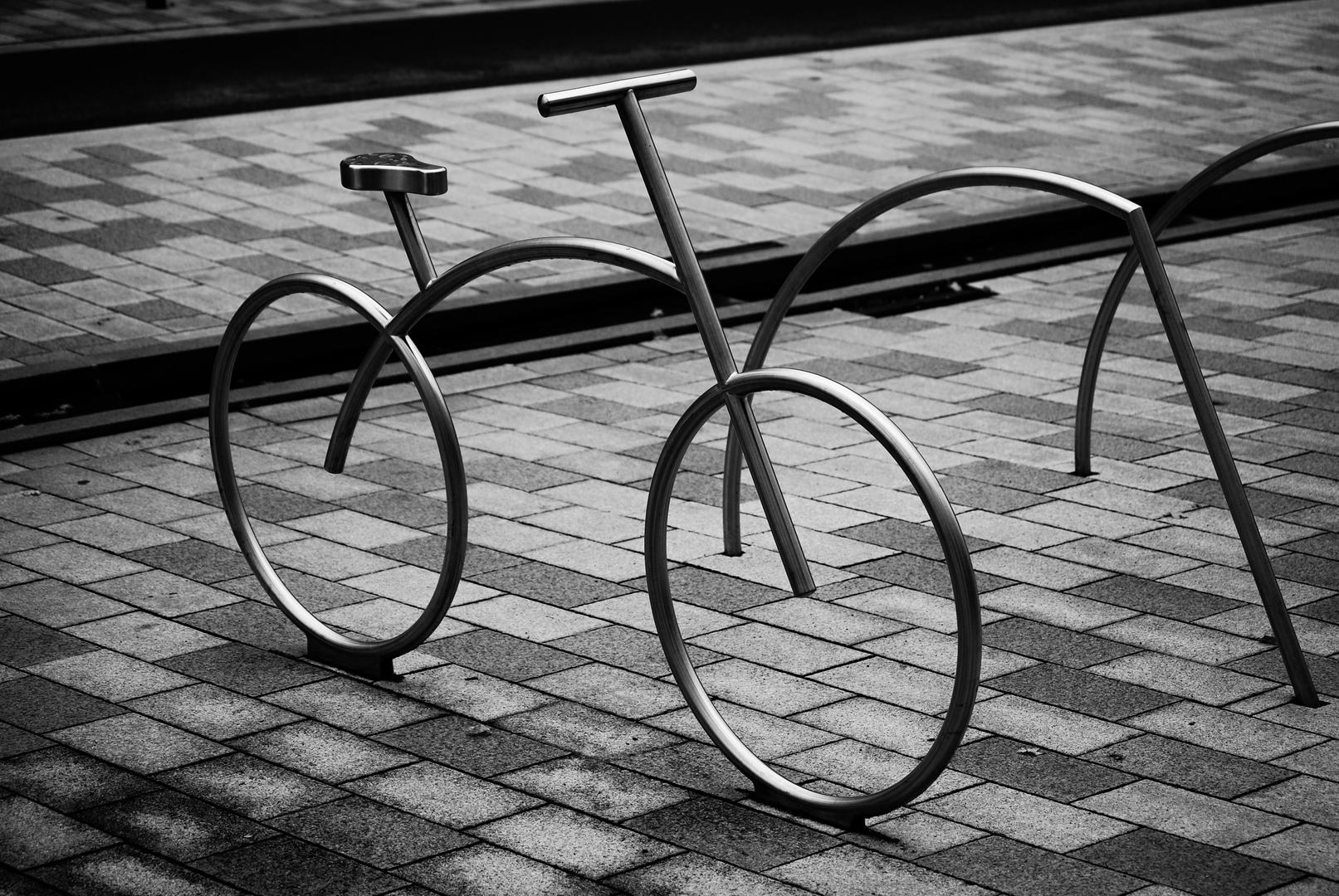 Marclel Rudolph,Fahrradständer