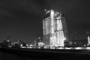 Yvonne Spörl, EZB bei Nacht