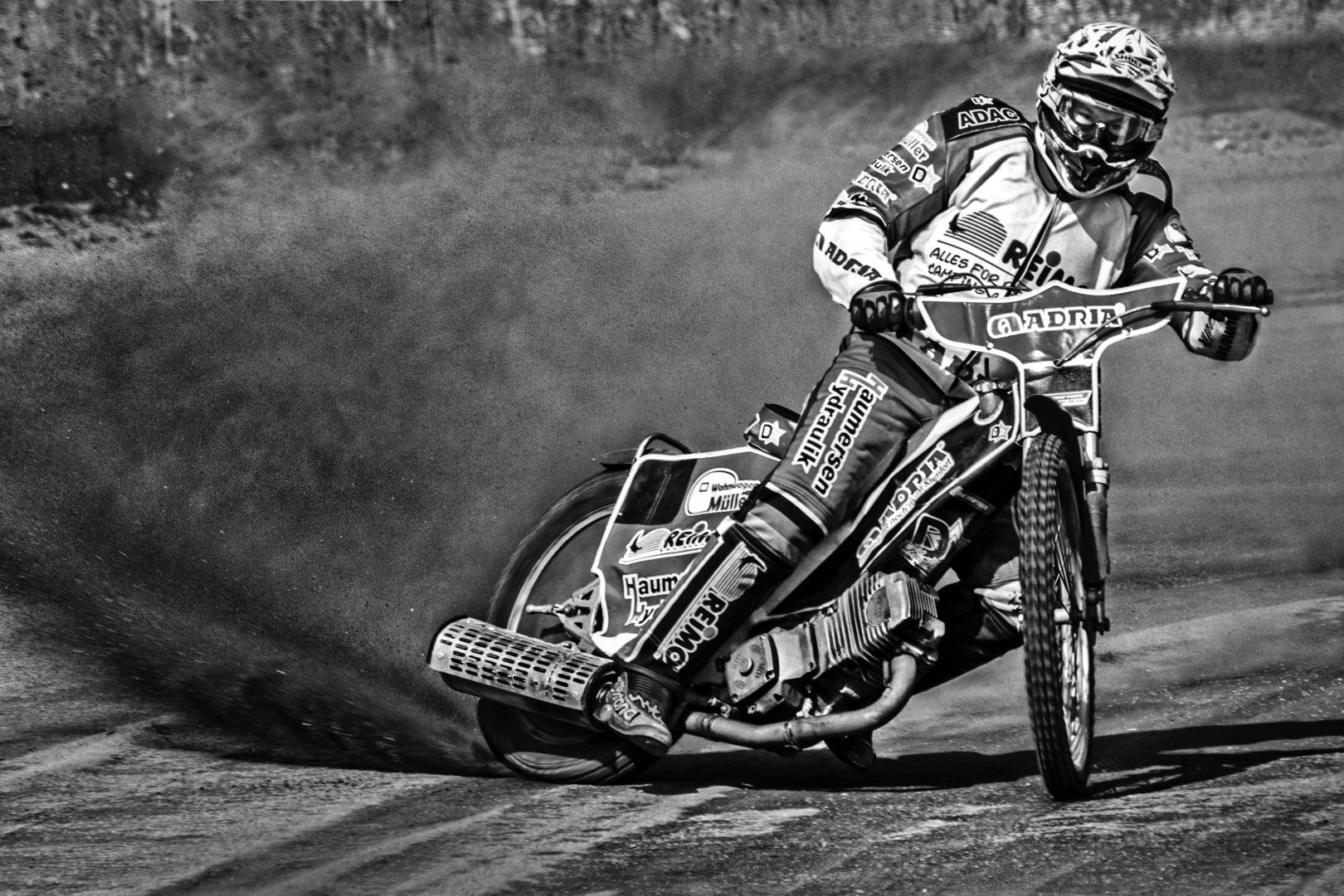 Helmut Plaha,Speedway