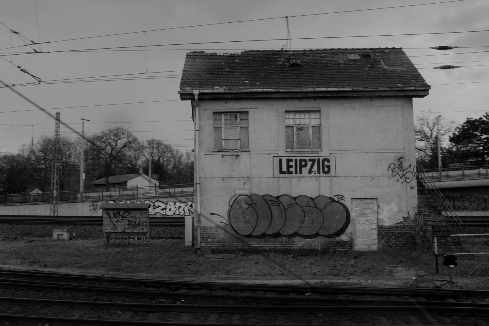 Bärbel Bornhöft, verlassener Bahnhof