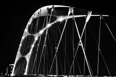 Karl-Heinz Link, Osthafenbrücke in Frankfurt