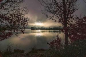 Albert Heinz_ Blick über den See_1